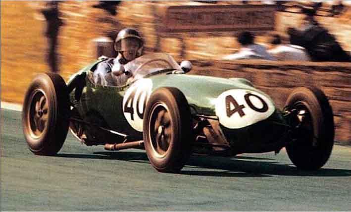Lotus (clássica), equipe histórica de Formula 1 de 1958 - by grandprixservices.co.uk